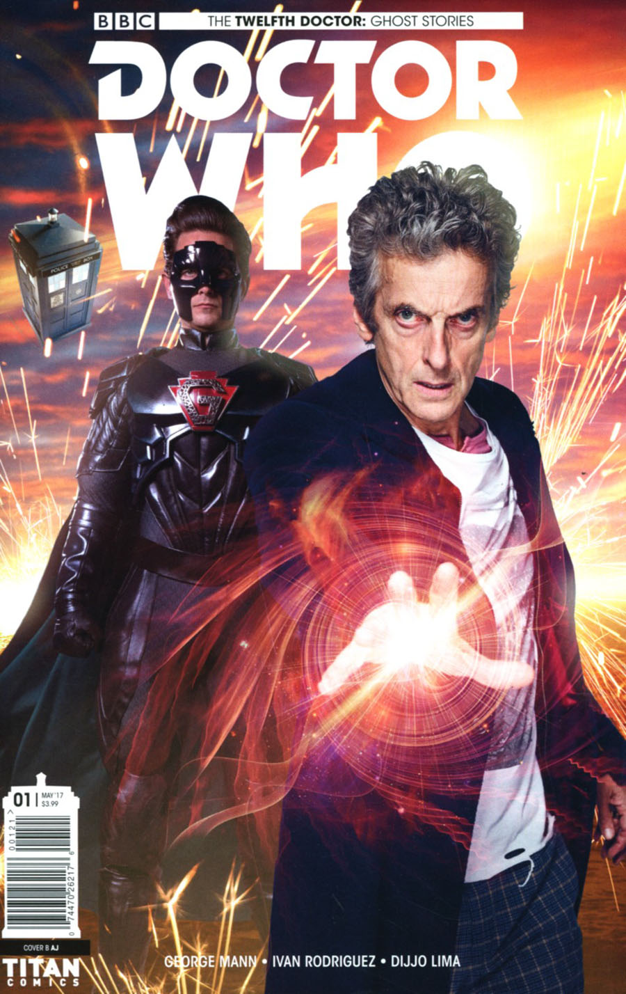 Doctor Who Ghost Stories #1 Cover B Variant Photo Cover