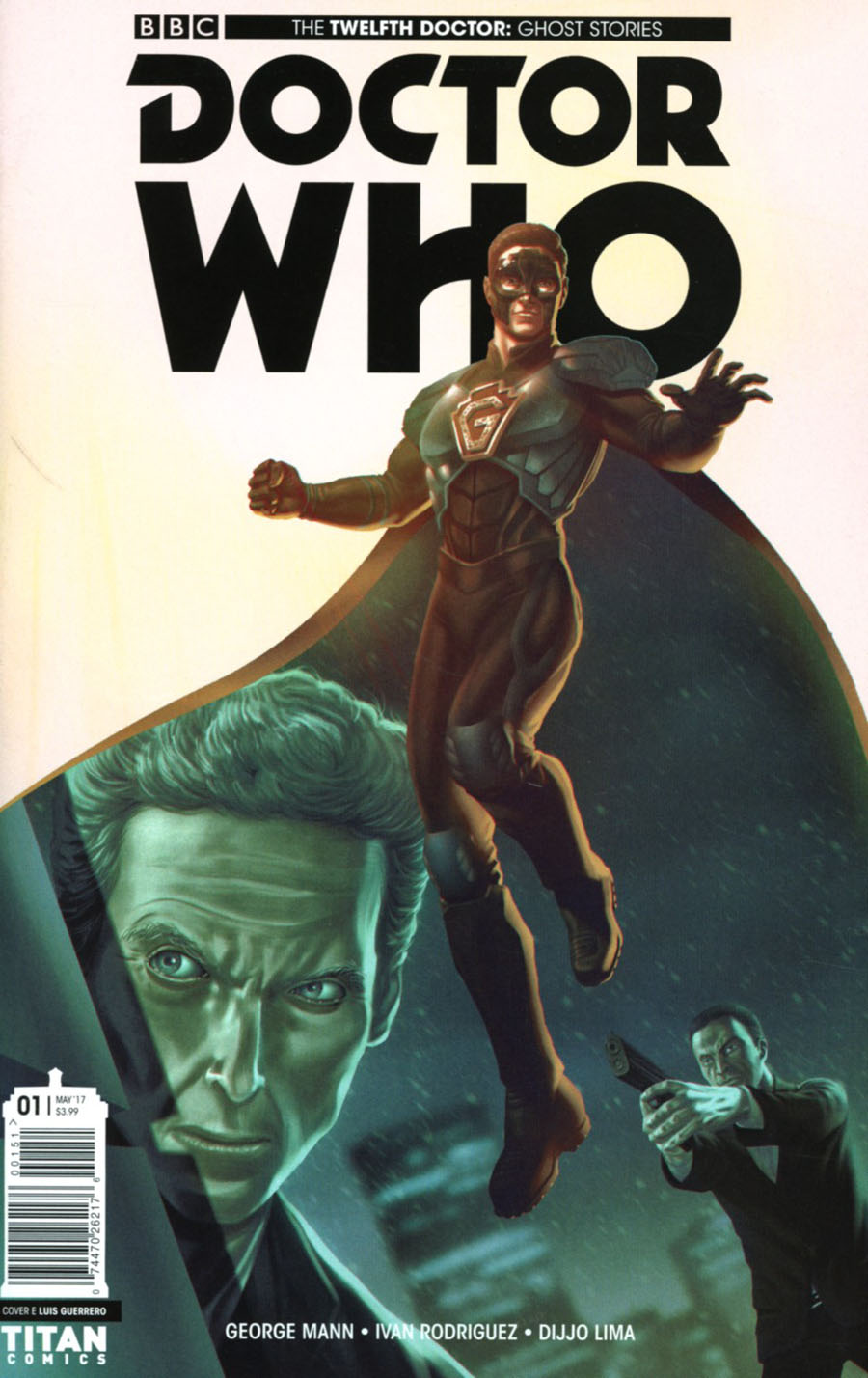 Doctor Who Ghost Stories #1 Cover E Variant Luis Guerrero Cover