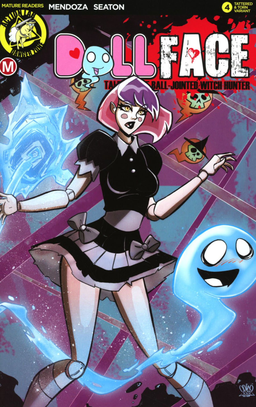 Dollface #4 Cover F Variant Marcelo Trom Pin-Up Cover