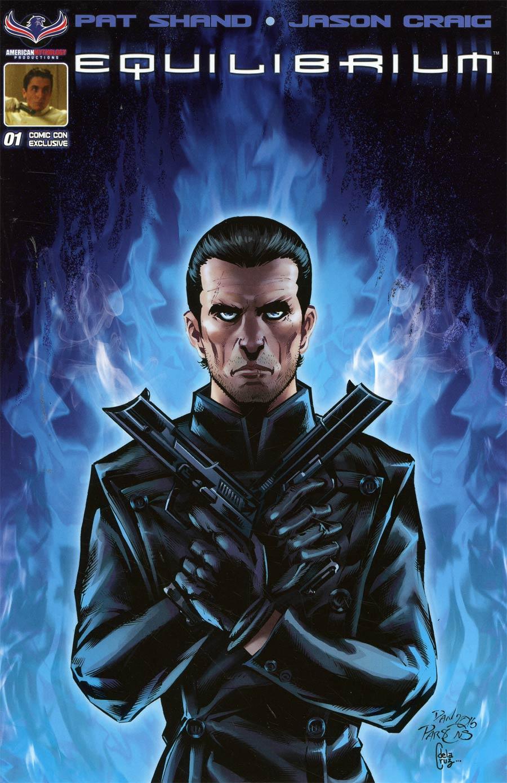 Equilibrium #1 Cover E Baltimore Comic Con Exclusive Variant Cover