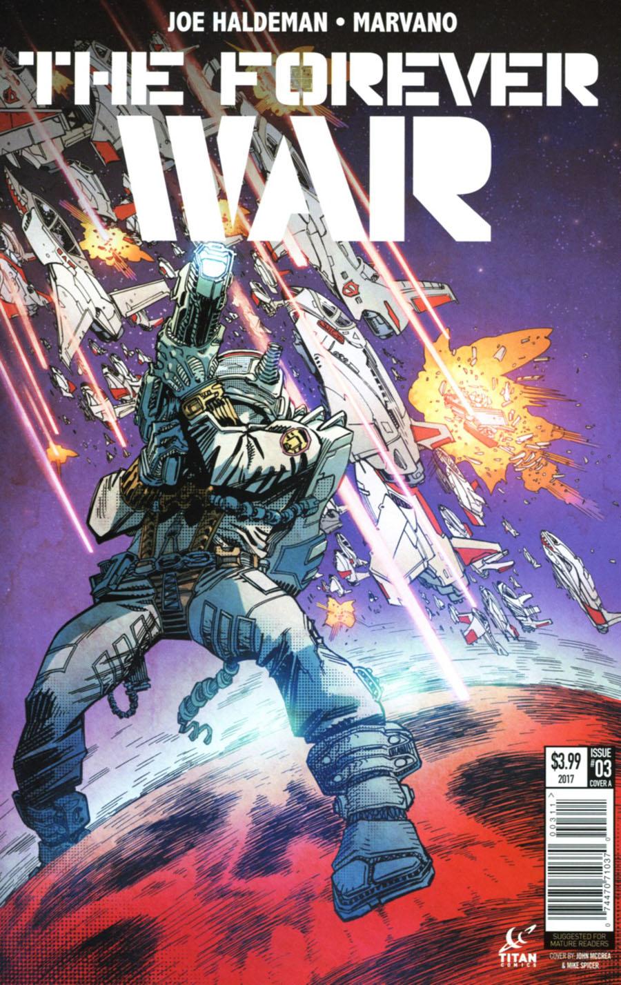 Forever War #3 Cover A Regular John McCrea Cover