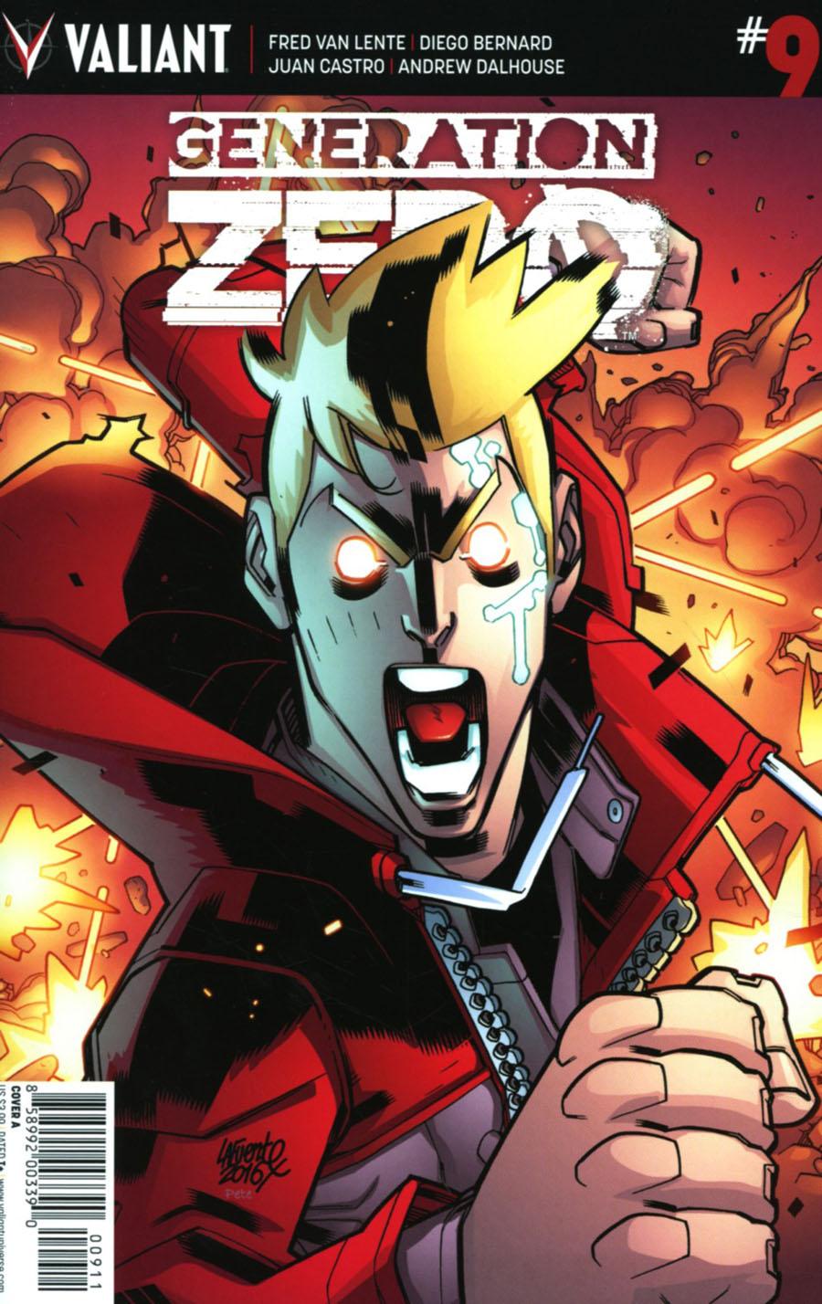 Generation Zero #9 Cover A Regular David Lafuente Cover