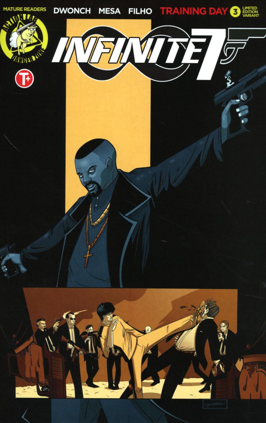 Infinite Seven #3 Cover C Variant Josh Greathouse Artist Cover