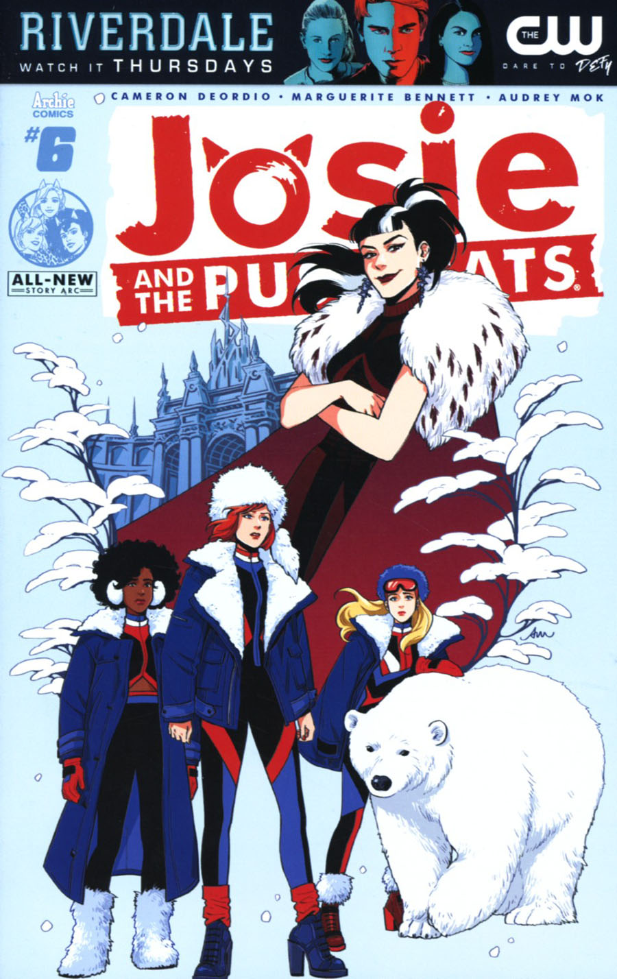 Josie And The Pussycats Vol 2 #6 Cover A Regular Audrey Mok Cover