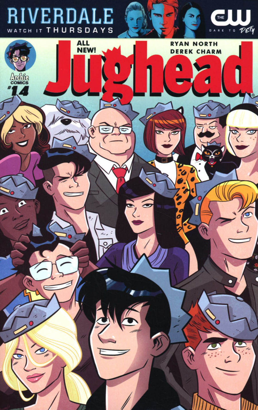 Jughead Vol 3 #14 Cover A Regular Derek Charm Cover