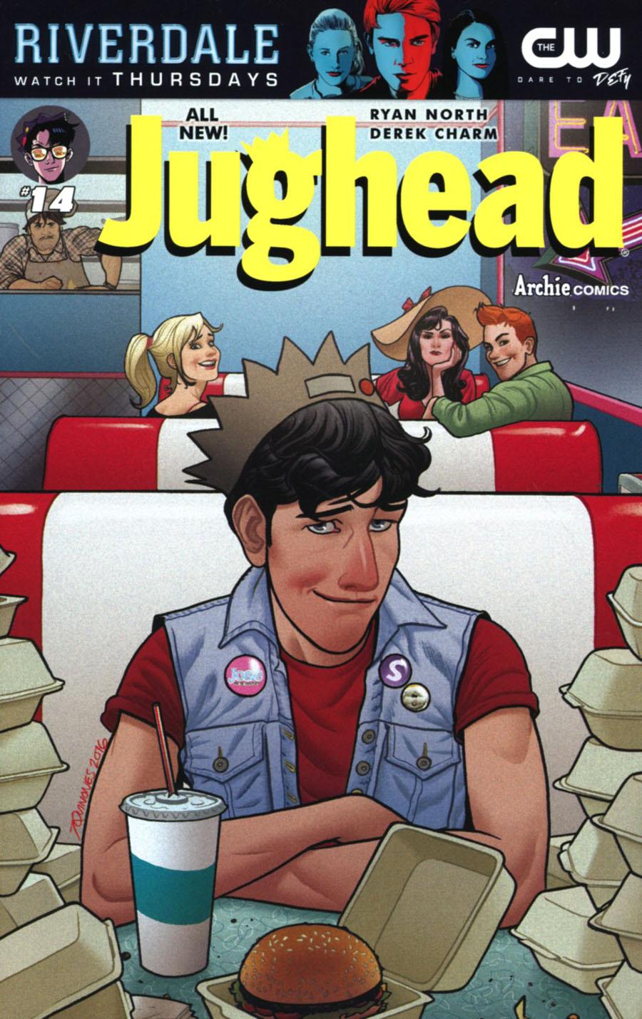 Jughead Vol 3 #14 Cover B Variant Joe Quinones Cover