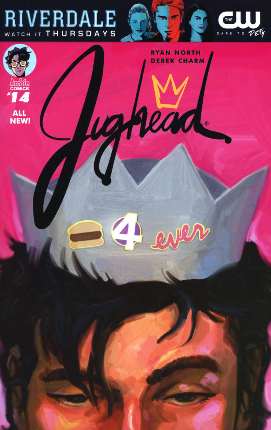 Jughead Vol 3 #14 Cover C Variant Chip Zdarsky Cover
