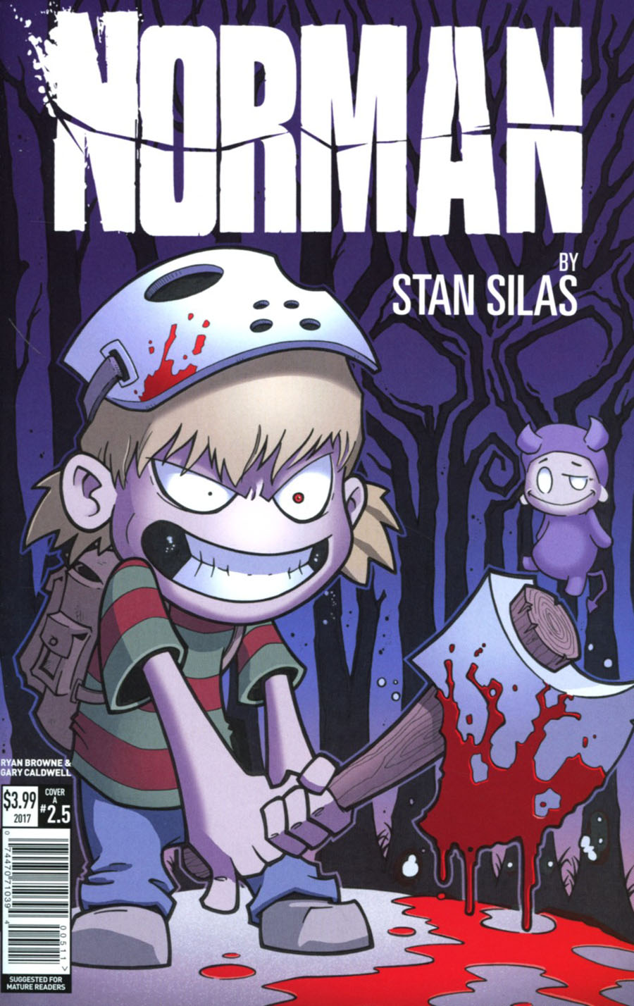 Norman The First Slash #5 Cover A Regular Ryan Browne Cover