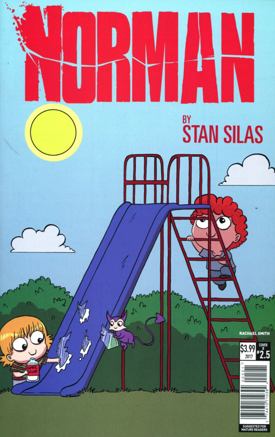 Norman The First Slash #5 Cover B Variant Rachael Smith Cover