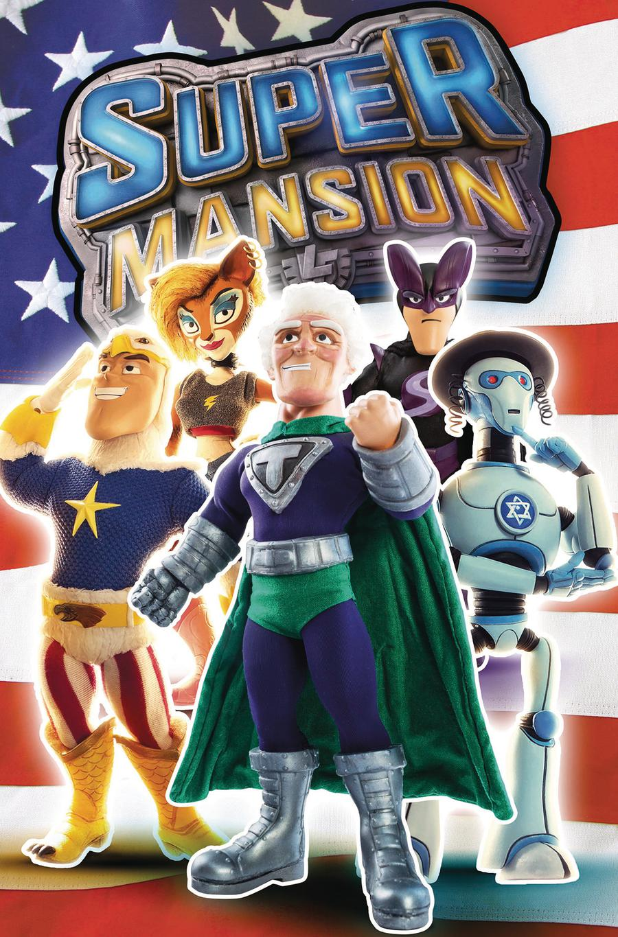 Supermansion #2 Cover B Variant TV Show Cover