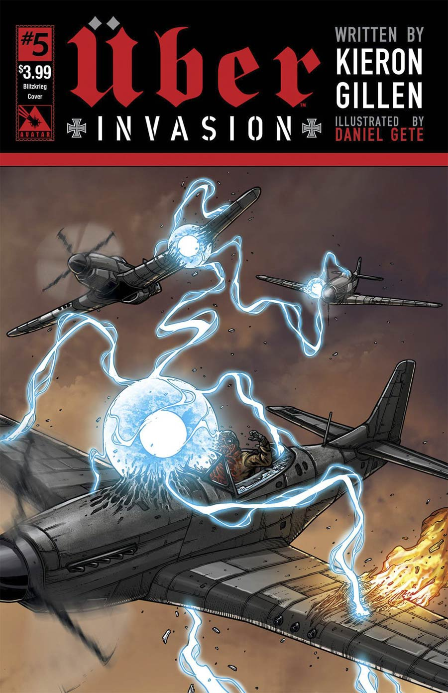 Uber Invasion #5 Cover E Blitzkrieg Cover