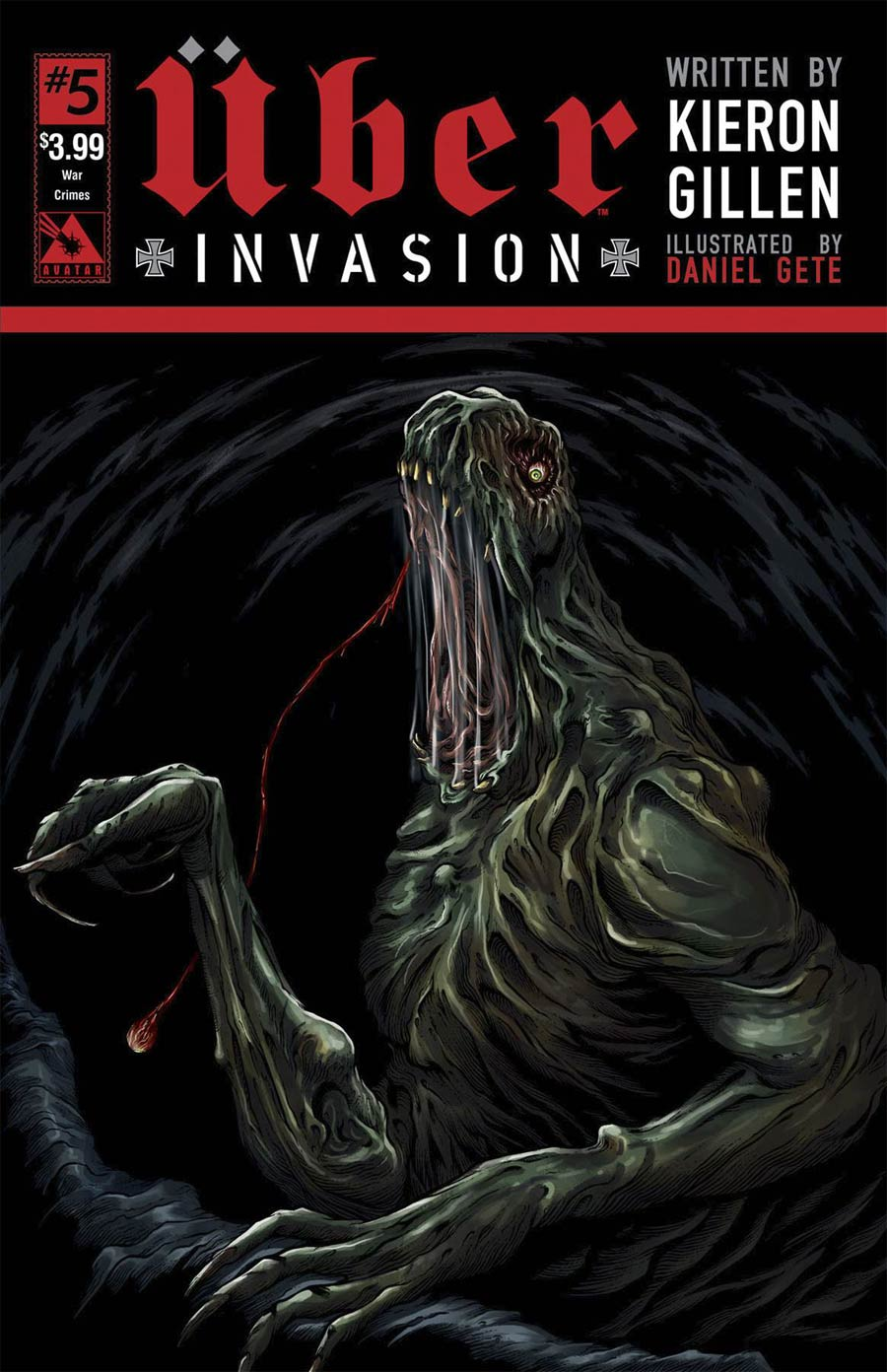 Uber Invasion #5 Cover C War Crimes Cover