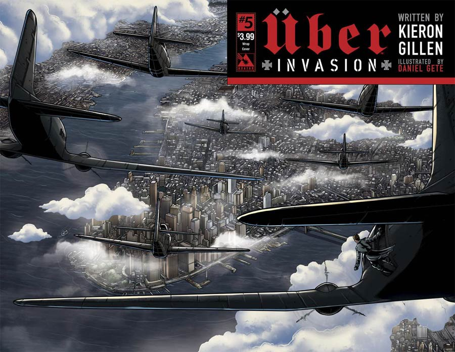 Uber Invasion #5 Cover B Wraparound Cover