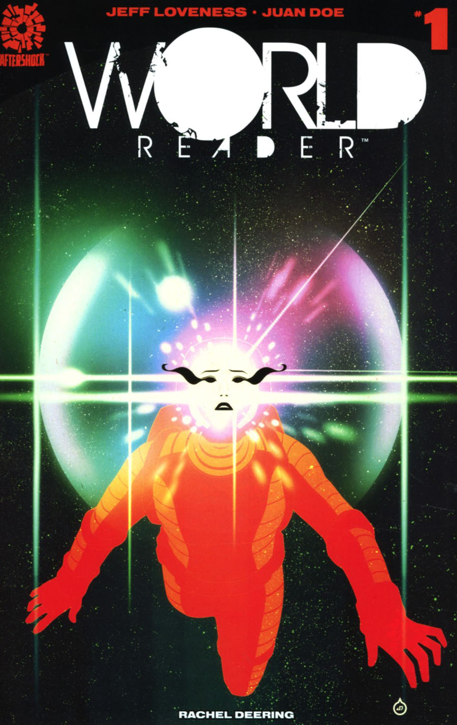 World Reader #1 Cover A Regular Juan Doe Cover