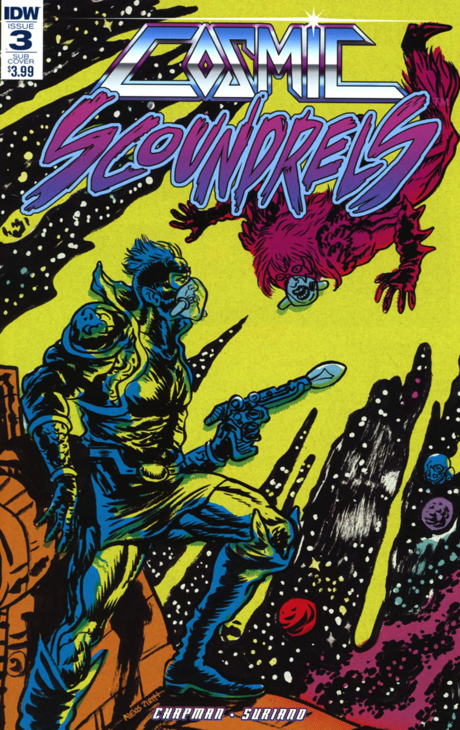 Cosmic Scoundrels #3 Cover B Variant Alexis Ziritt Subscription Cover