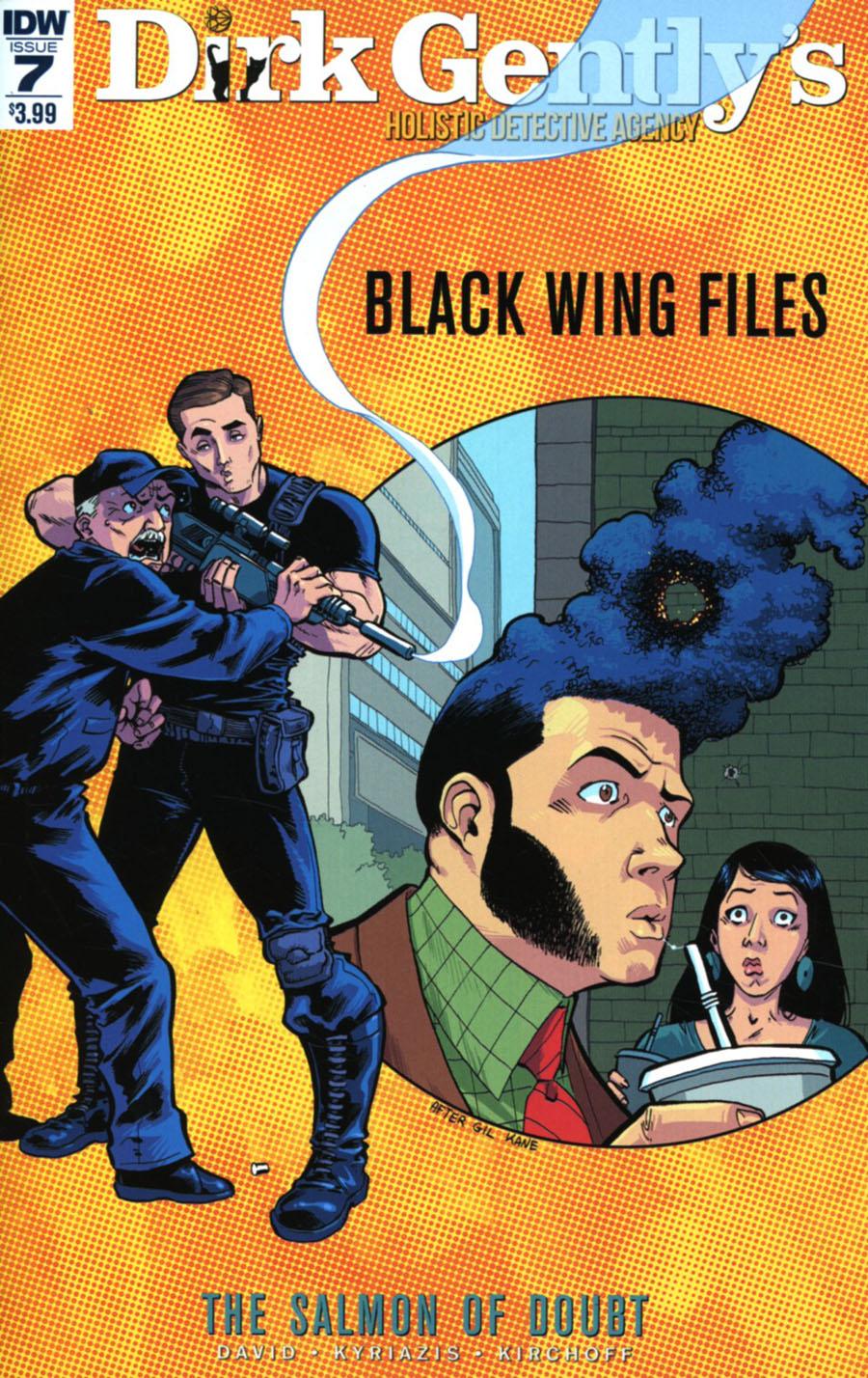 Dirk Gentlys Holistic Detective Agency Salmon Of Doubt #7 Cover A Regular Ilias Kyriazis Cover