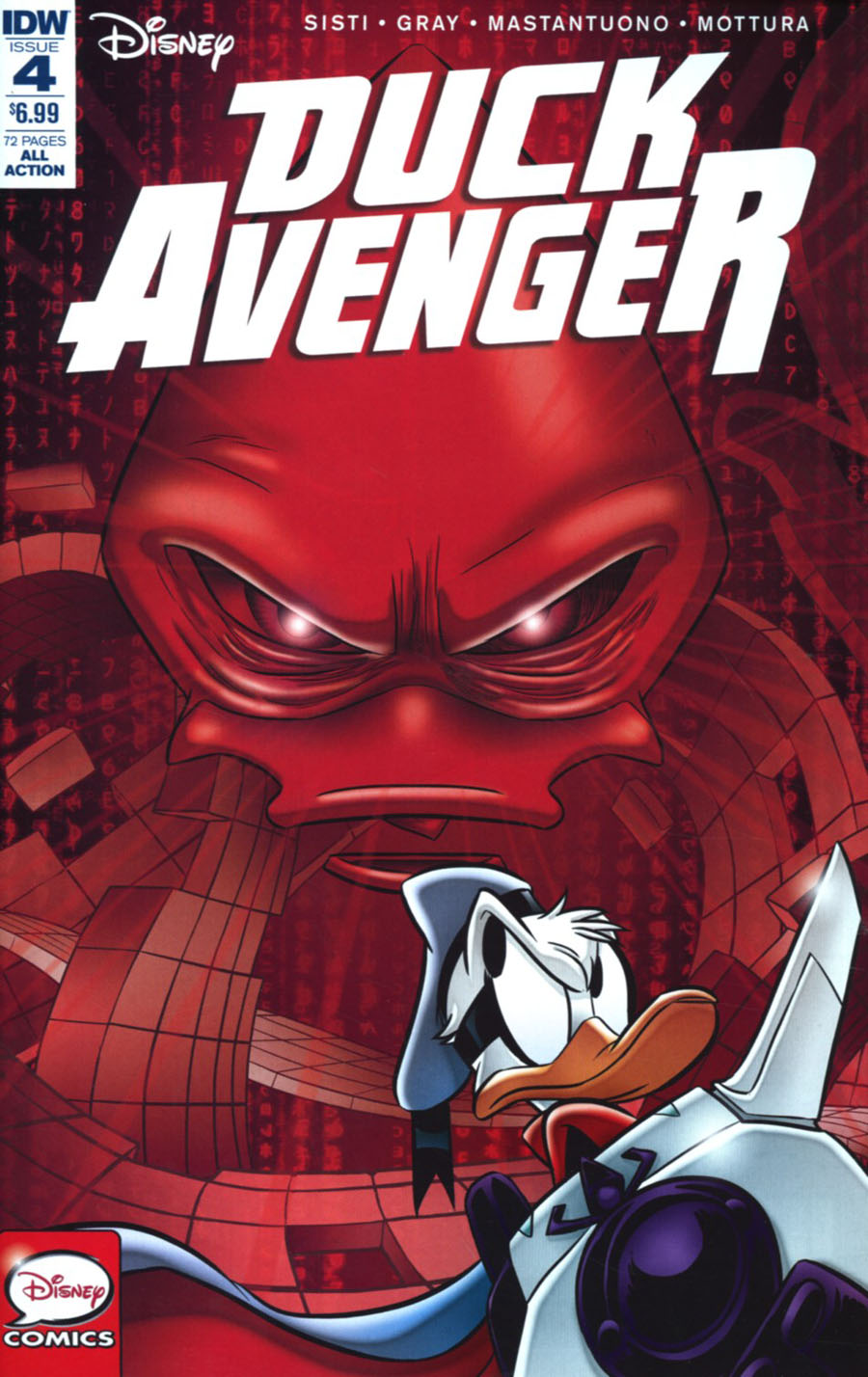 Duck Avenger #4 Cover A Regular Claudio Sciarrone Cover