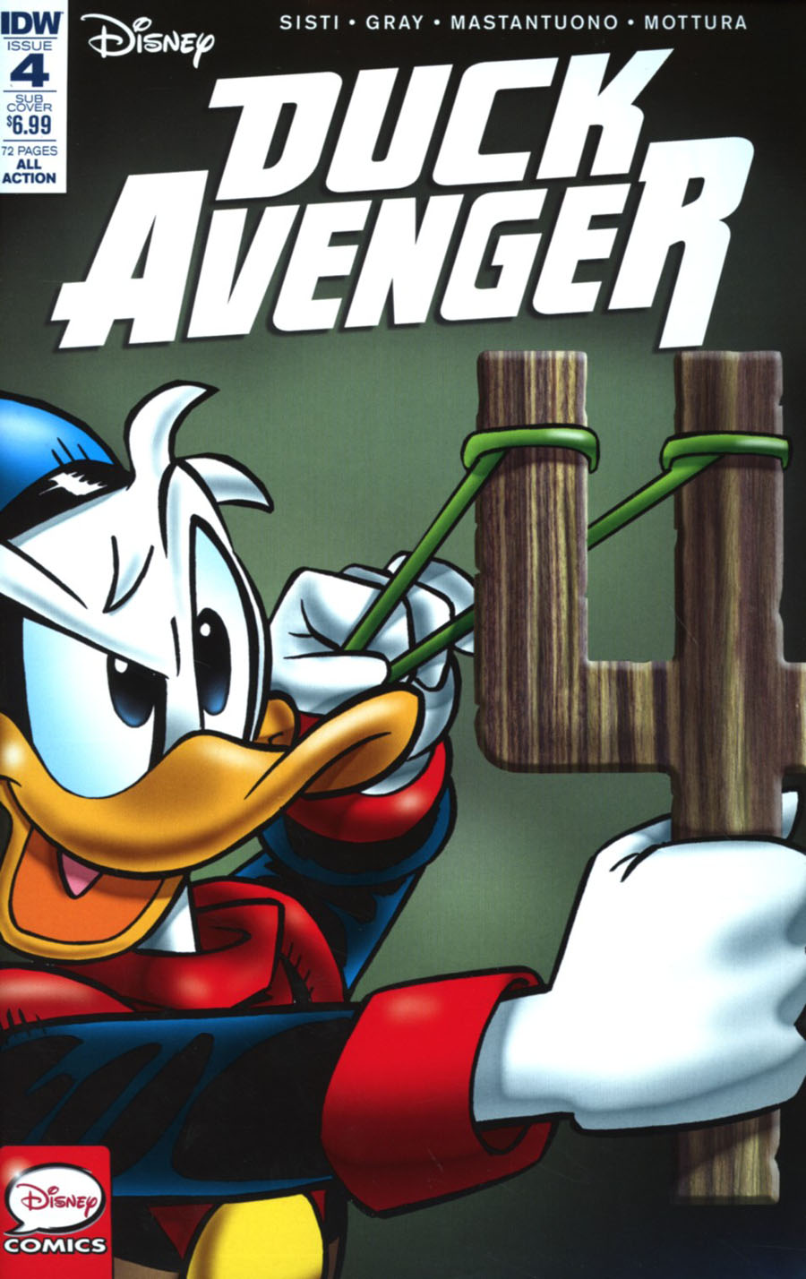 Duck Avenger #4 Cover B Variant Marco Gervasio Subscription Cover