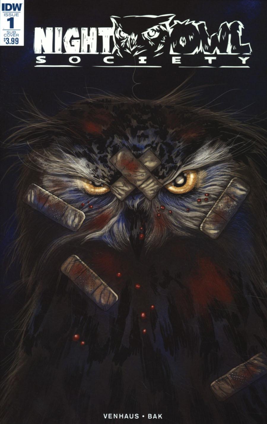 Night Owl Society #1 Cover B Variant Valentin Ramon Subscription Cover