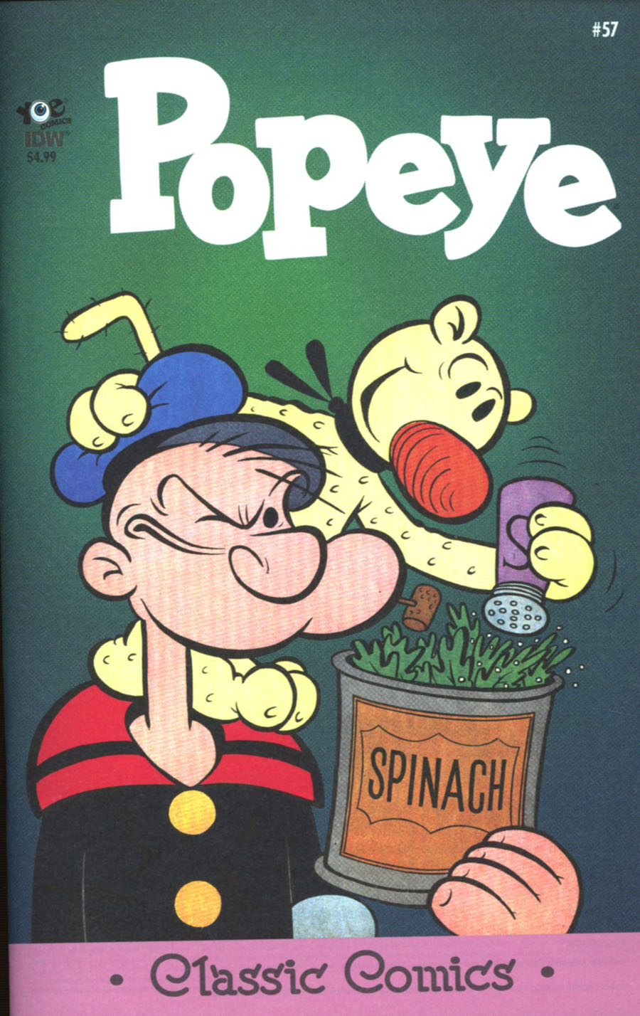 Classic Popeye #57 Cover A Regular Bud Sagendorf Cover
