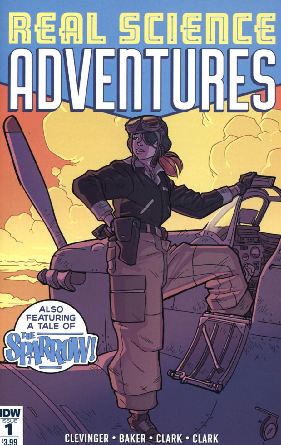 Atomic Robo Presents Real Science Adventures #1 Cover A Regular Scott Wegener Cover