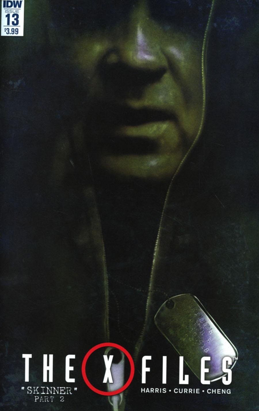 X-Files Vol 3 #13 Cover A Regular Menton3 Cover