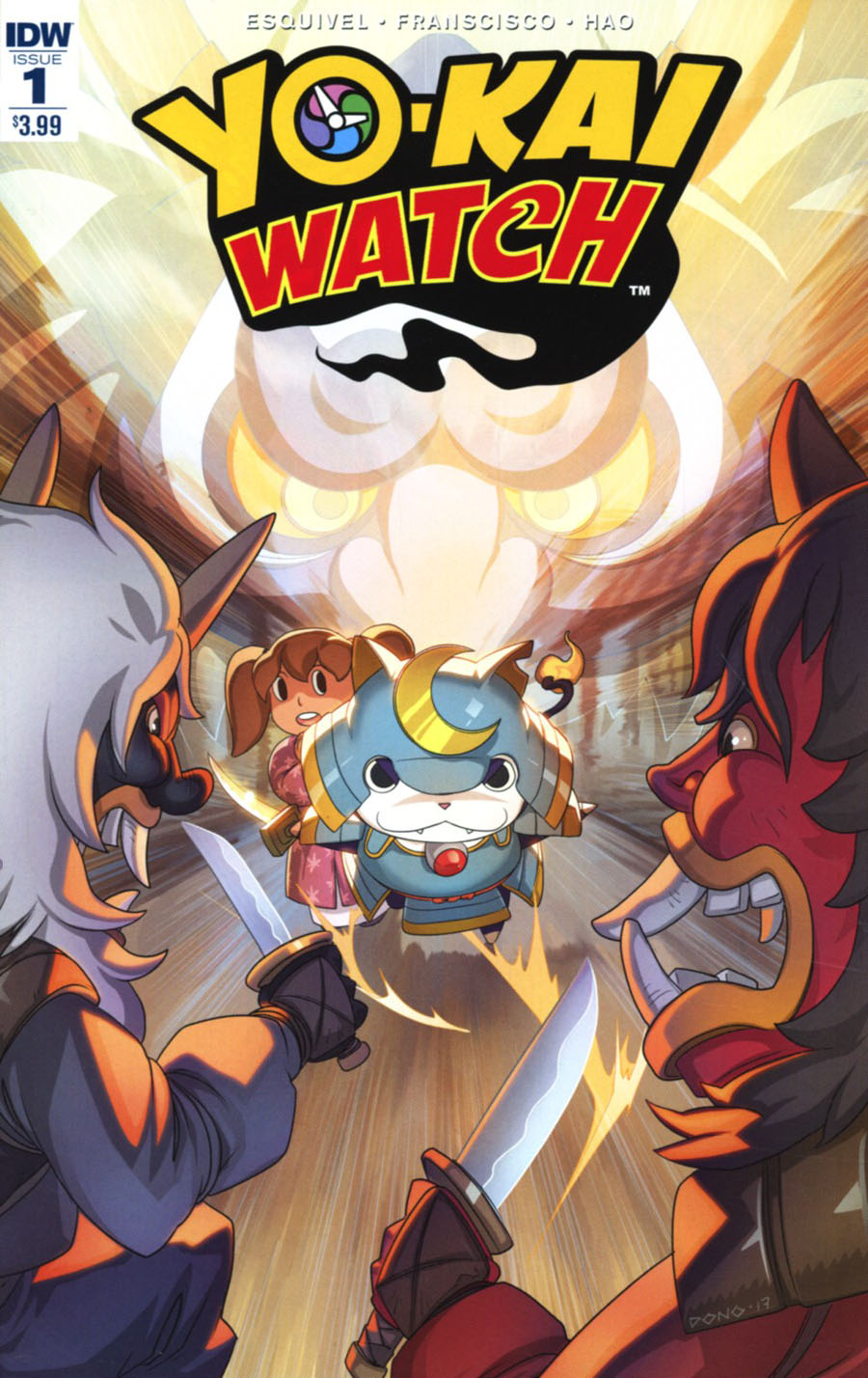 Yo-Kai Watch #1 Cover A Regular Dono Sanchez Almara Cover