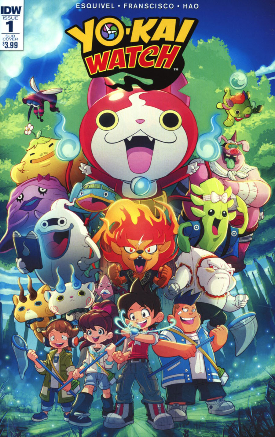 Yo-Kai Watch #1 Cover B Variant Rob Duenas Subscription Cover