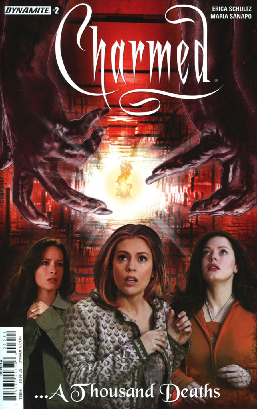 Charmed Vol 2 #2 Cover A Regular Joe Corroney Cover