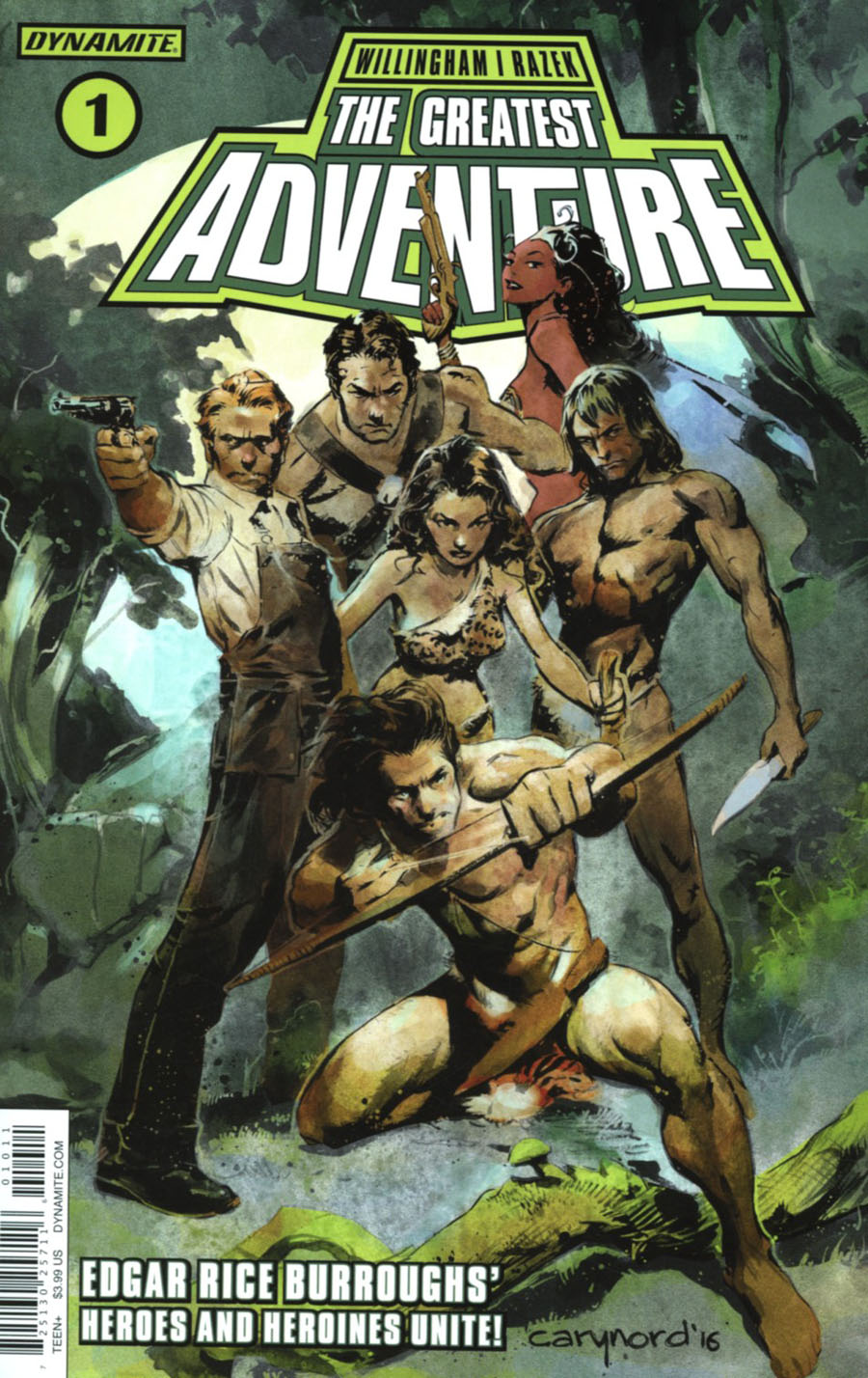 Greatest Adventure #1 Cover A Regulary Cary Nord Cover
