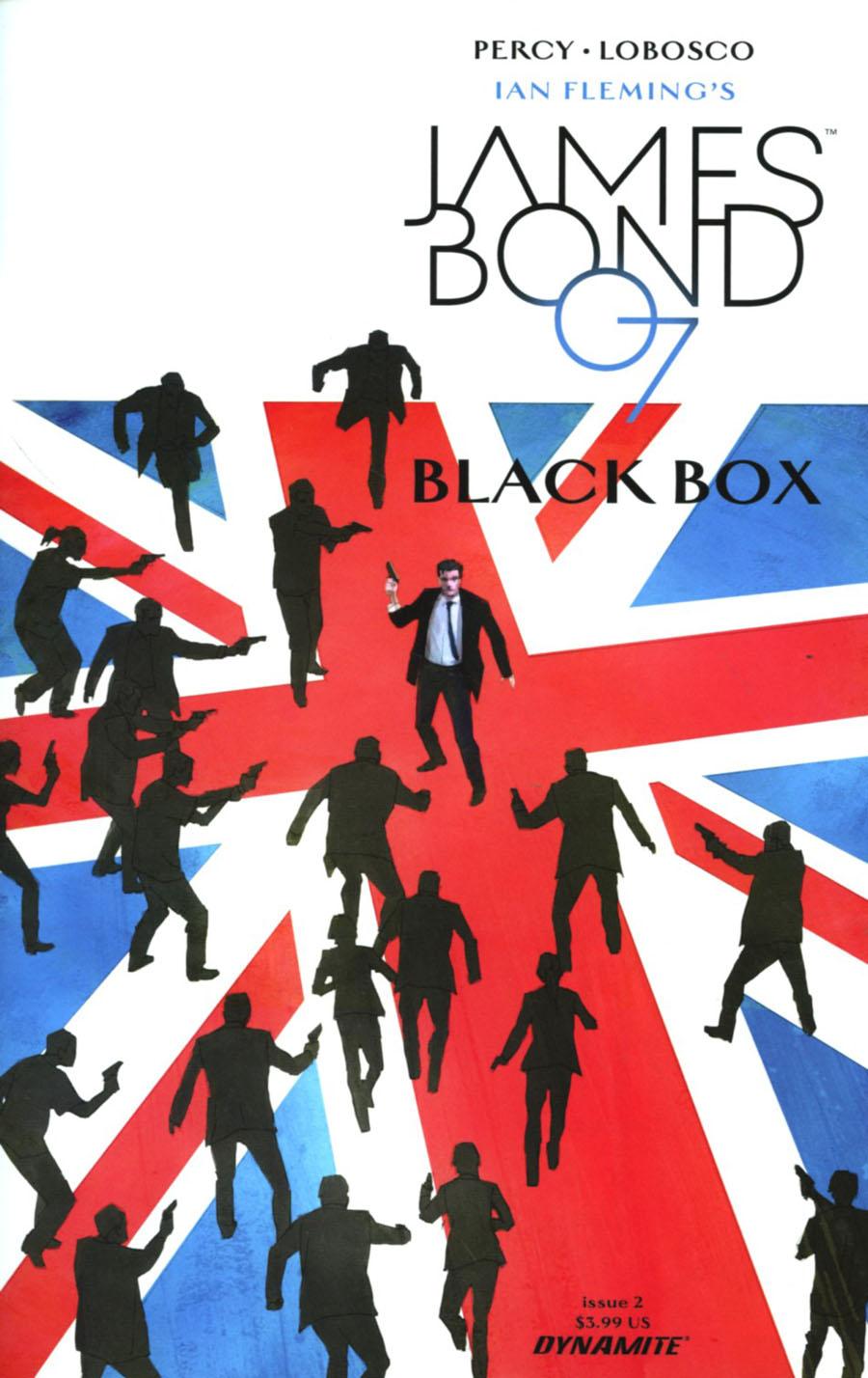 James Bond Vol 2 #2 Cover A Regular Dominic Reardon Cover