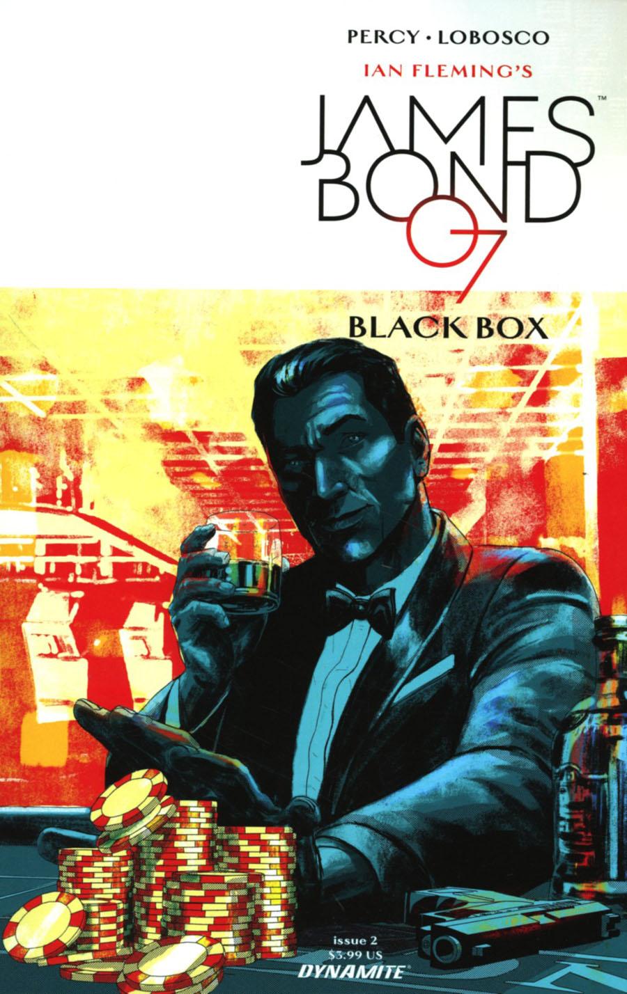 James Bond Vol 2 #2 Cover B Variant Jason Masters Cover