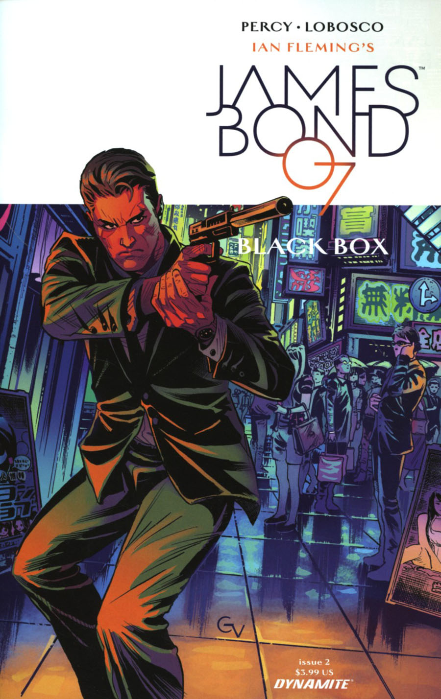 James Bond Vol 2 #2 Cover C Variant Giovanni Valletta Cover