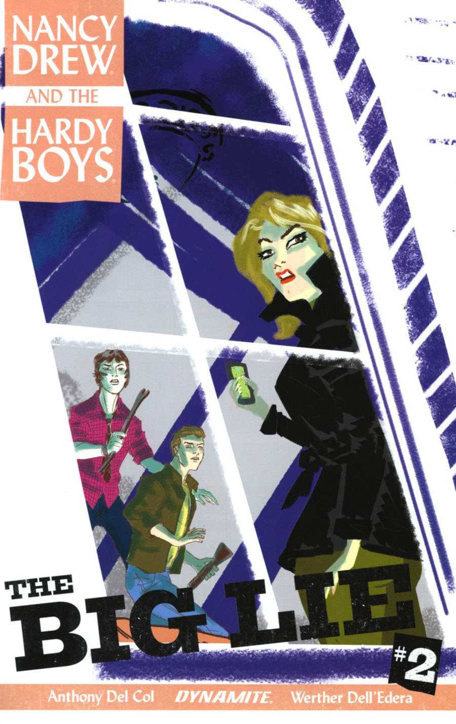 Nancy Drew And The Hardy Boys The Big Lie #2 Cover B Variant Dave Bullock Cover