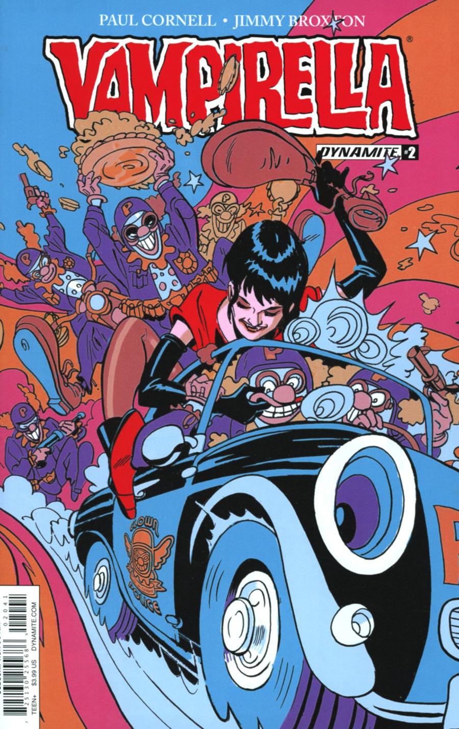Vampirella Vol 7 #2 Cover D Variant Jimmy Broxton Subscription Cover