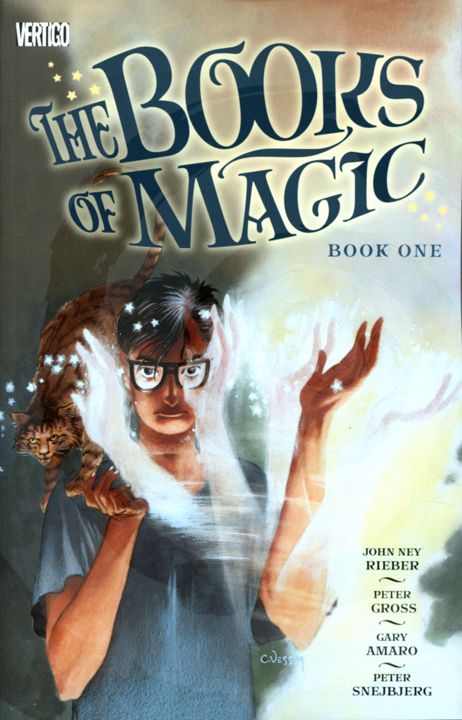 Books Of Magic Book 1 TP