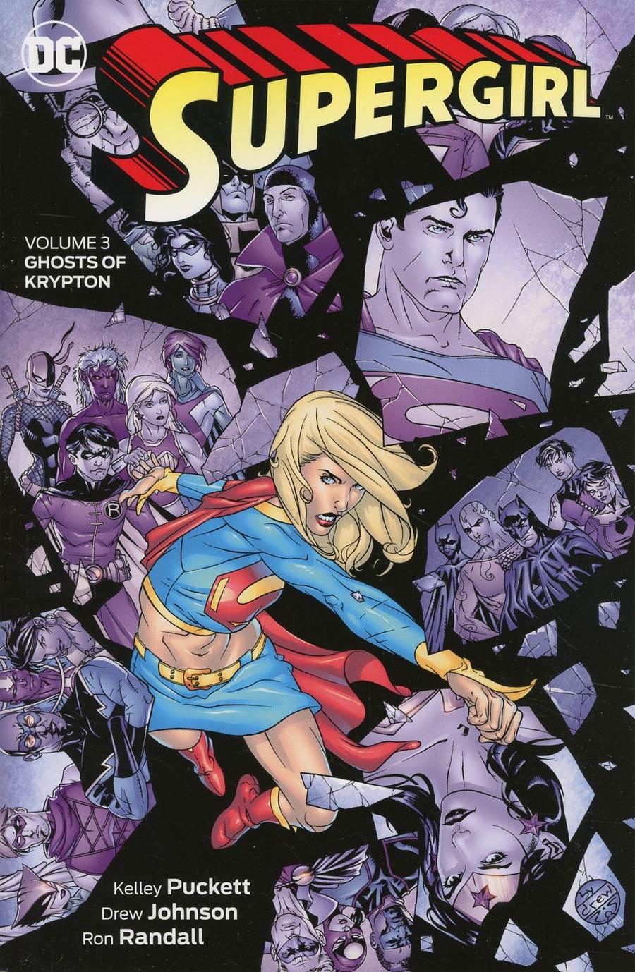 Supergirl Vol 3 Ghosts Of Krypton TP