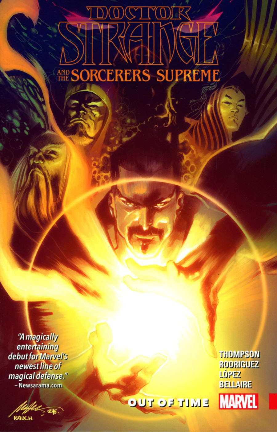 Doctor Strange And The Sorcerers Supreme Vol 1 Out Of Time TP