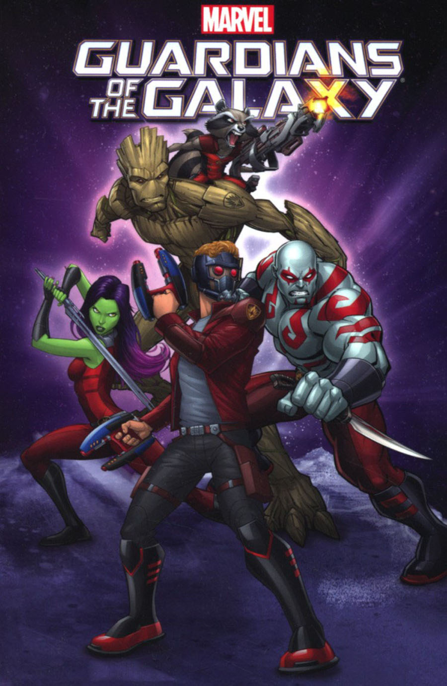Marvel Universe Guardians Of The Galaxy Vol 5 TP Digest