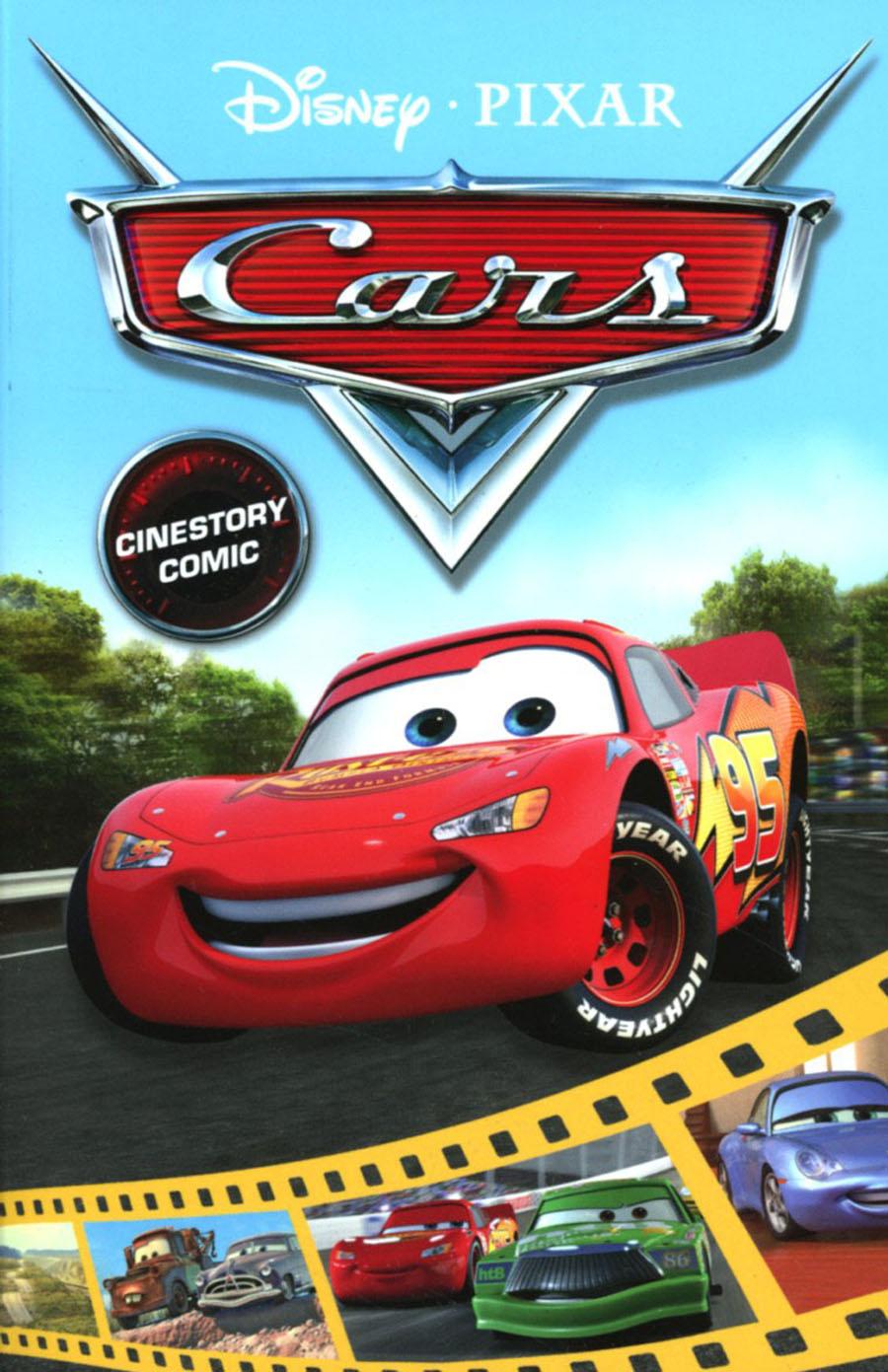 Disney Pixar Cars Cinestory Comic TP