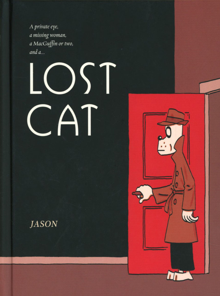 Jason Lost Cat HC New Edition
