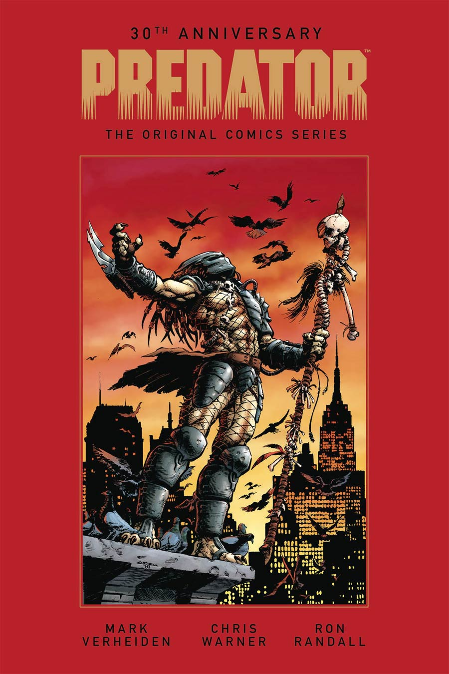 Predator Original Comics Series Concrete Jungle And Other Stories HC