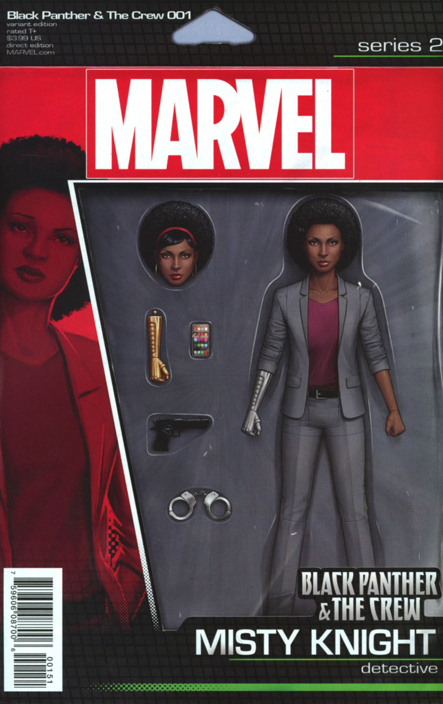 Black Panther And The Crew #1 Cover C Variant John Tyler Christopher Action Figure Cover