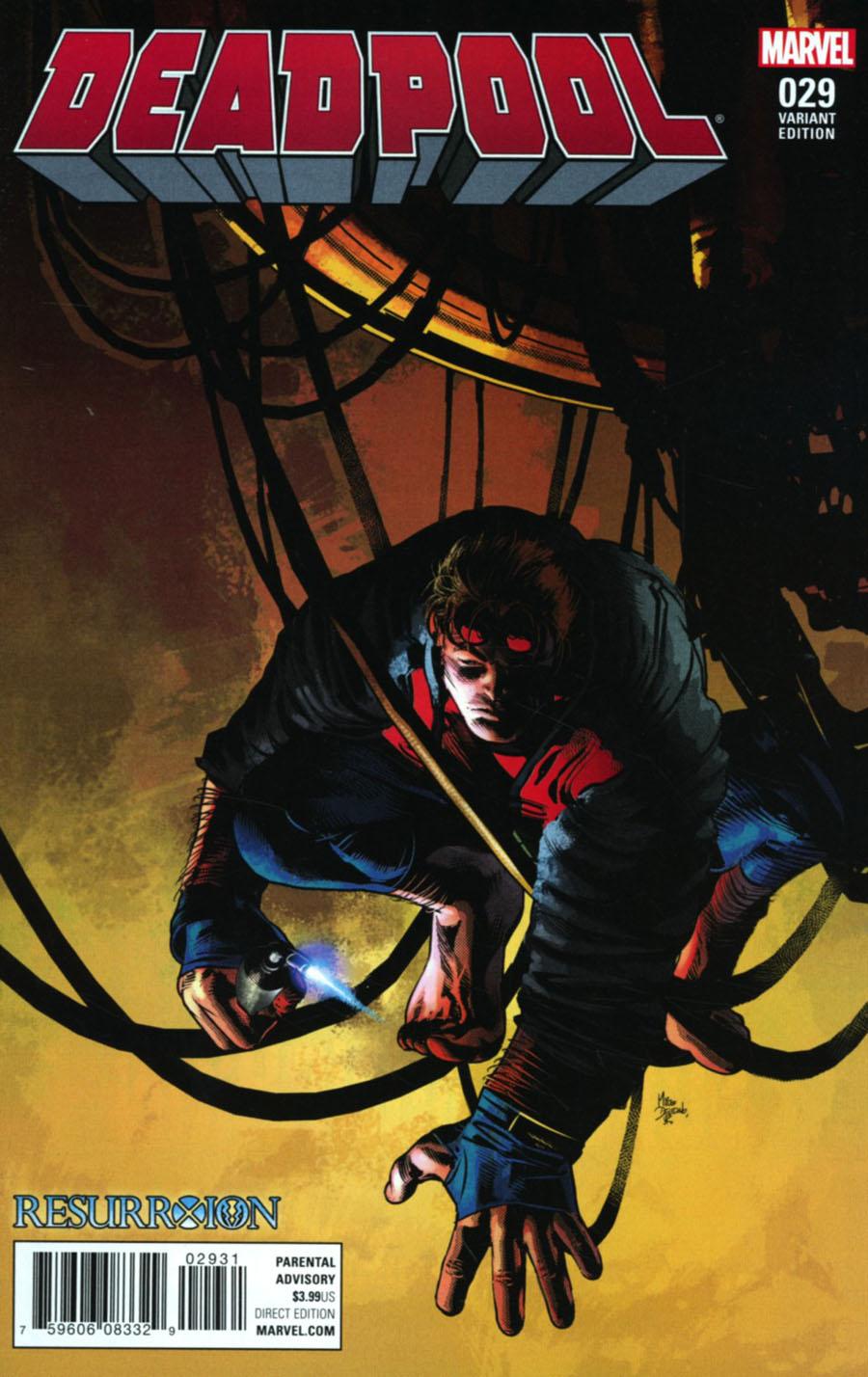 Deadpool Vol 5 #29 Cover C Variant Mike Deodato Jr Resurrxion Cover (Til Death Do Us Part 6)