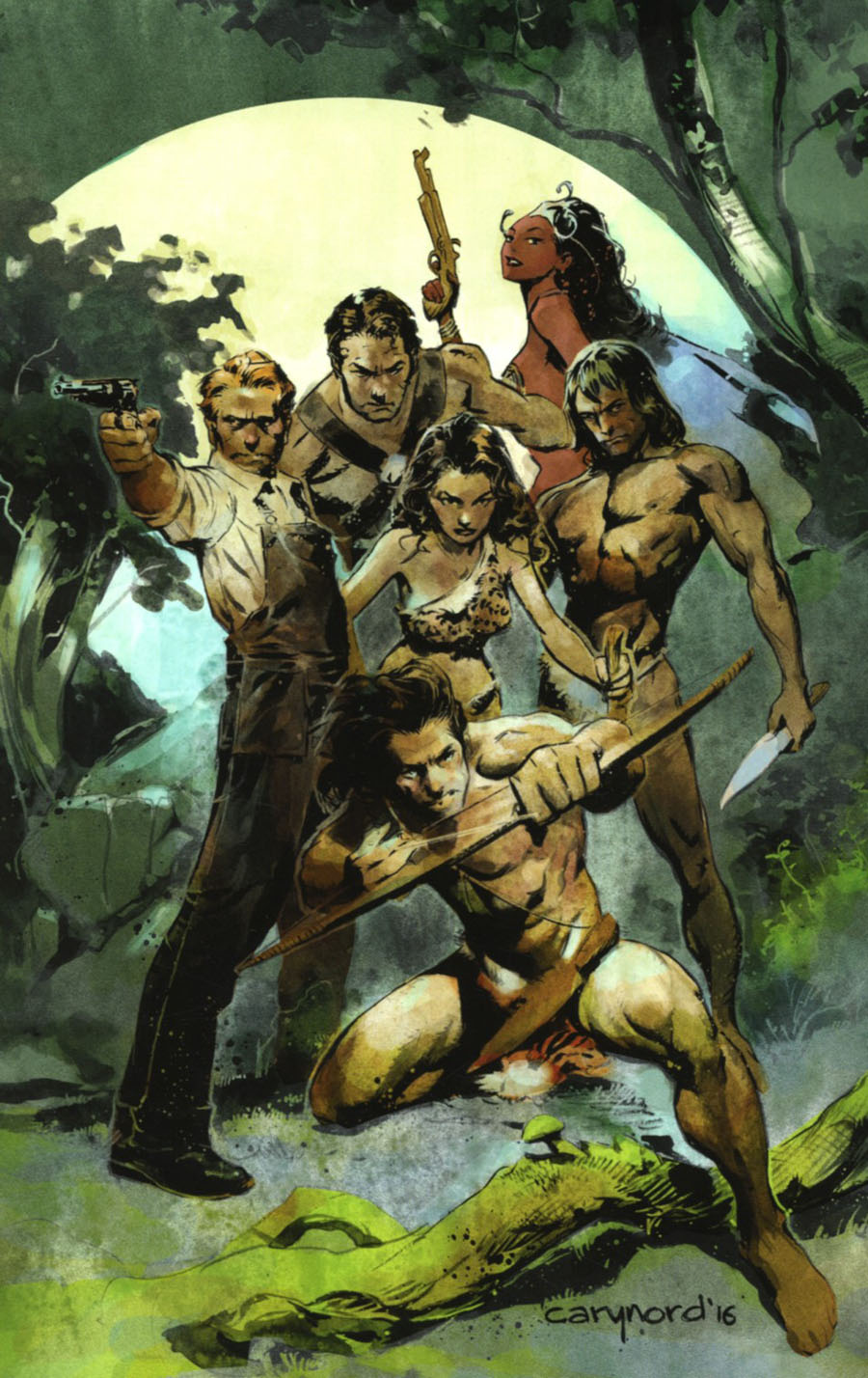 Greatest Adventure #1 Cover H Incentive Cary Nord Virgin Cover