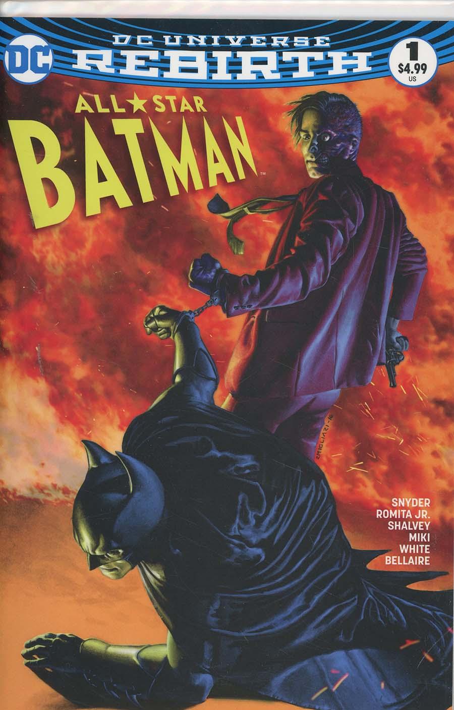 All-Star Batman #1 Cover O DF AOD Collectables Exclusive Rudolfo Migliari Variant Cover