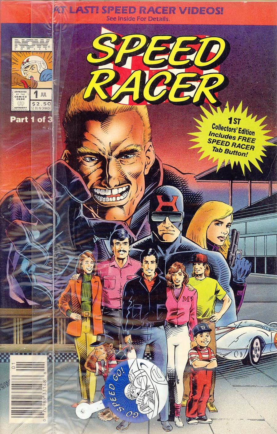 Speed Racer Vol 2 #1 Cover B With Polybag