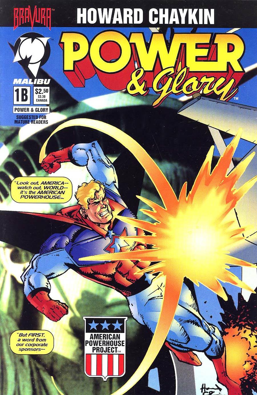 Power & Glory #1 Cover B