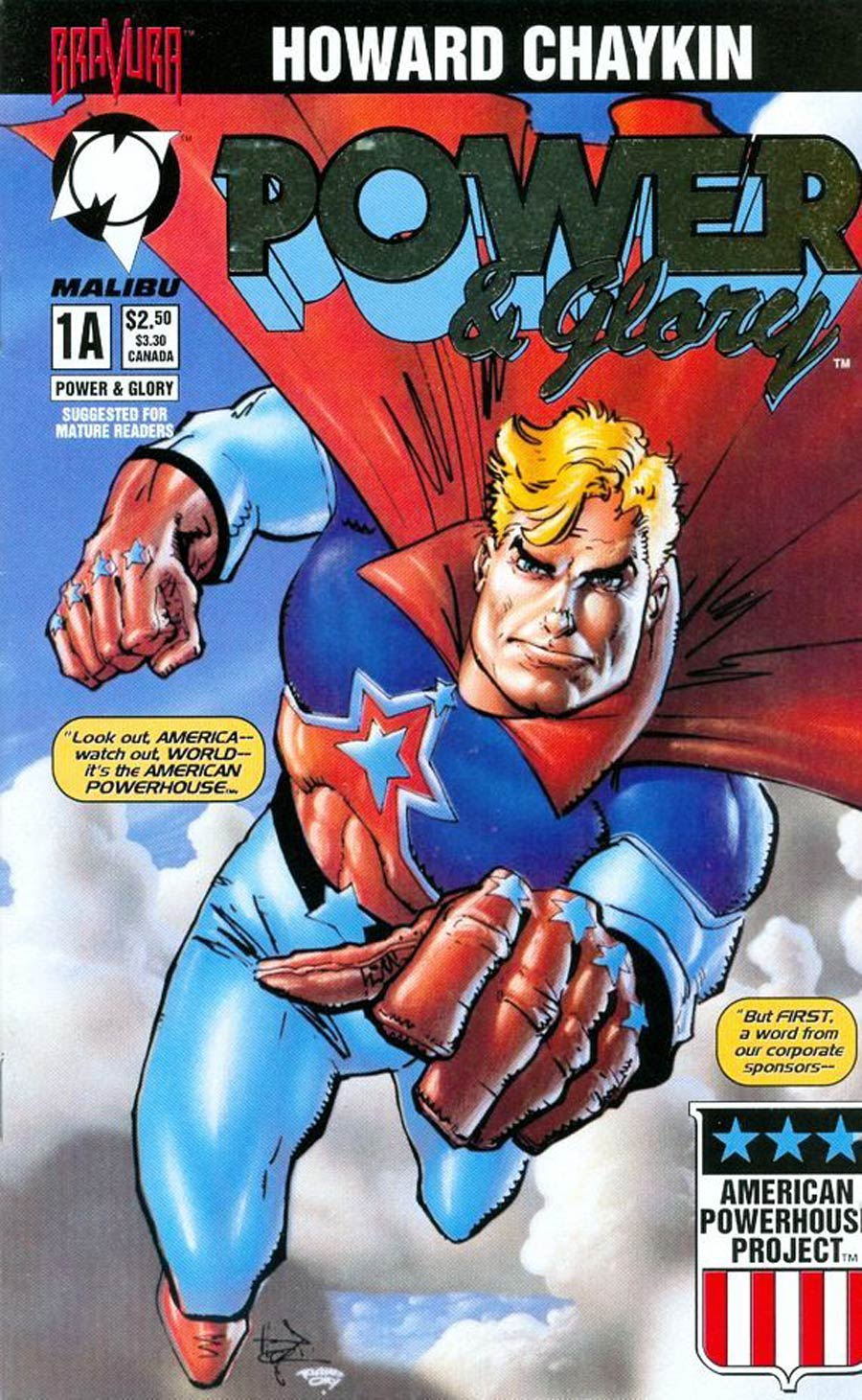 Power & Glory #1 Cover D Silver Foil Cover