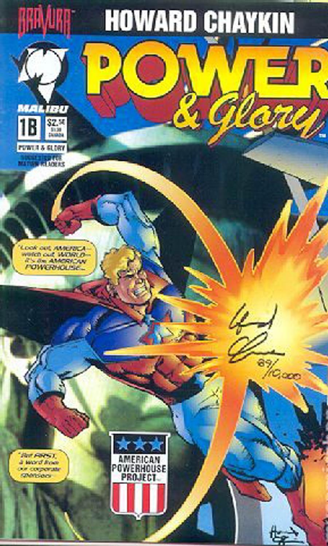 Power & Glory #1 Cover E DF Signed